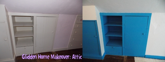 Glidden Home Makeover: Attic