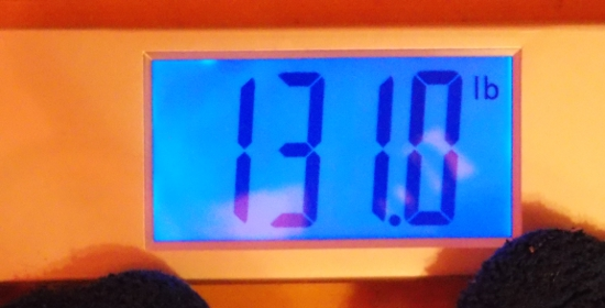Beeb's Weight - Week 39