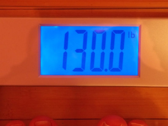 Beeb's Weight - Week 41