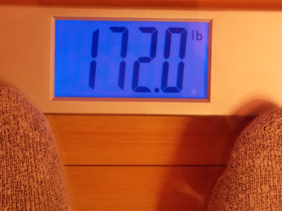 Jai's Weight  - Week 39