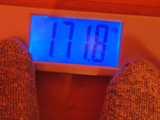 Jai's Weight - Week 41