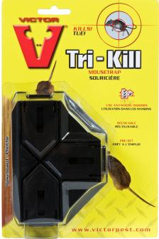 Tri-Kill Mouse Trap
