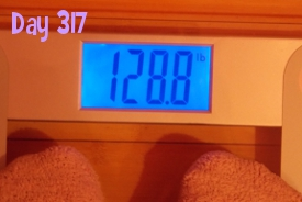 Beeb's Weight - Day 317