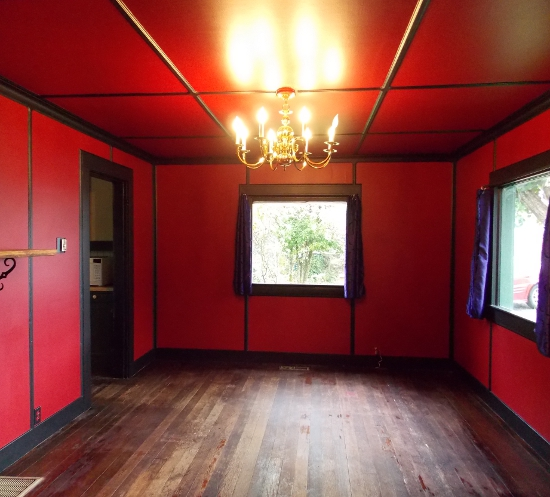 Painting Crown Moulding Red
