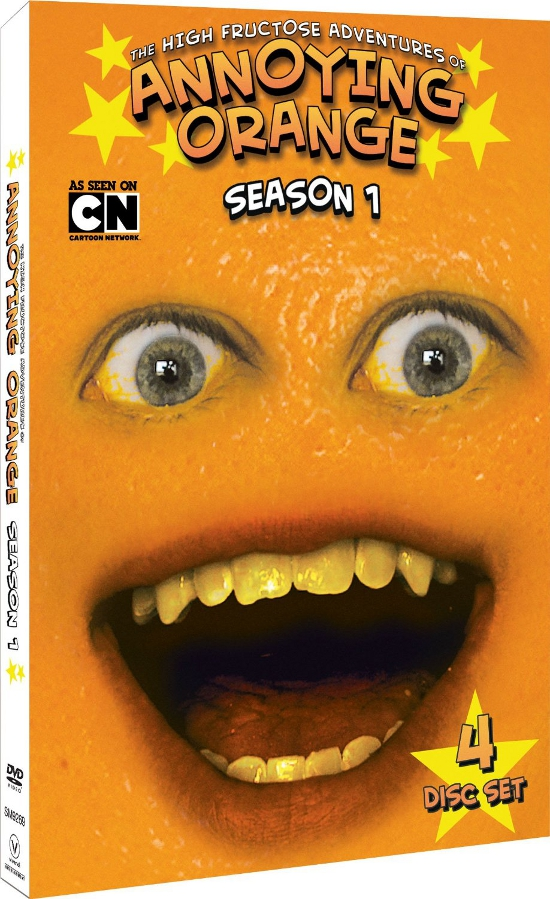 Annoying Orange on DVD