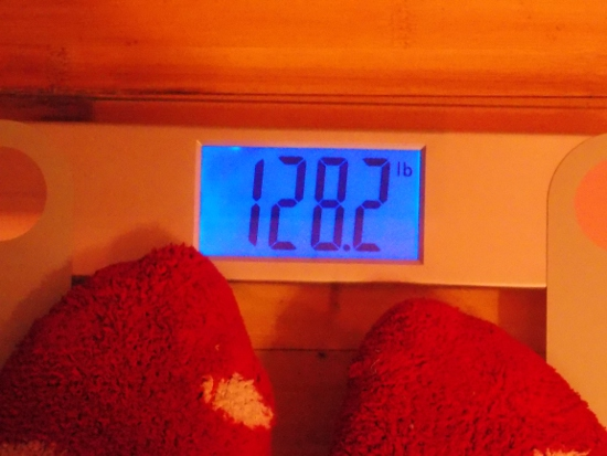 Beeb's Weight - One Month After Nutrisystem