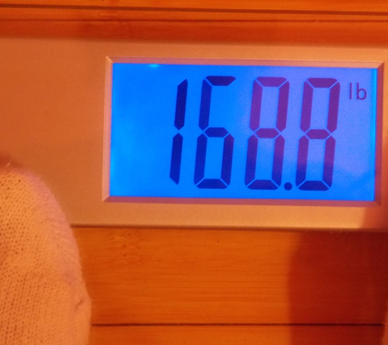 Jai's Weight - One Month After Nutrisystem