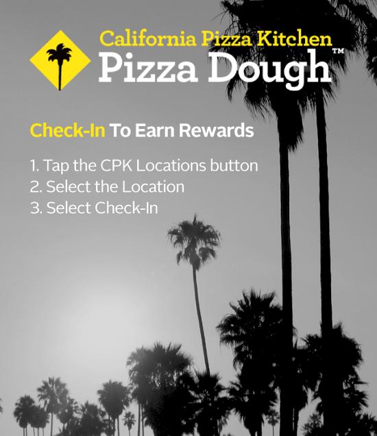 California Pizza Kitchen Rewards Program