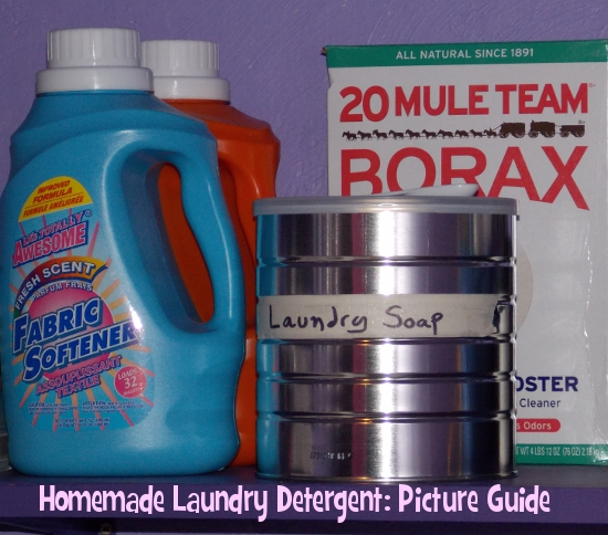 Homemade Laundry Detergent: Picture Guide