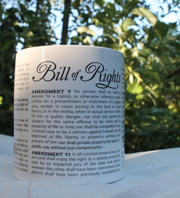 Bill of Rights mug
