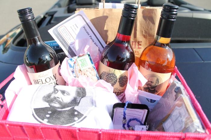 Raffle gift basket