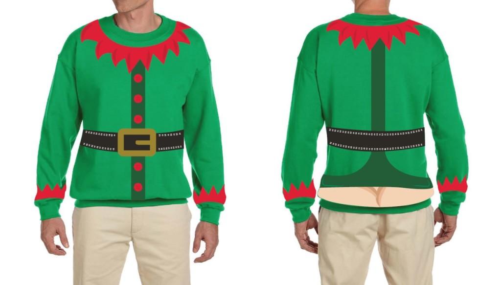 Cheeky Cheer Holiday Sweater